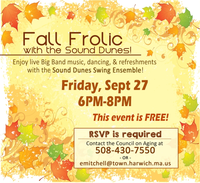 Fall Frolic 2019 Flyer